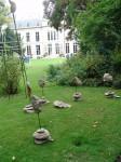 michel cand,sculpture,installation,projet de monument,micaschiste,marbre,lave