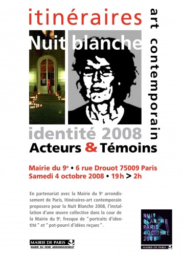 nuit blanche,michel cand,itineraires